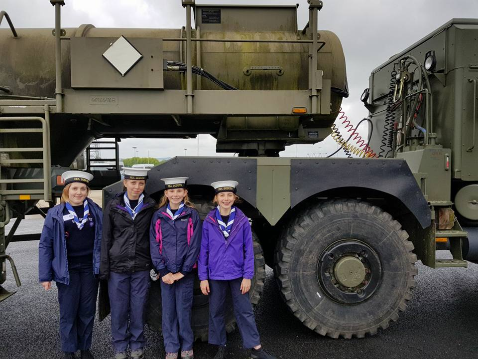 Scouts – Army Mechanic Day